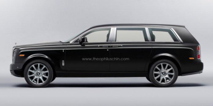 Rolls-Royce SUV rendering