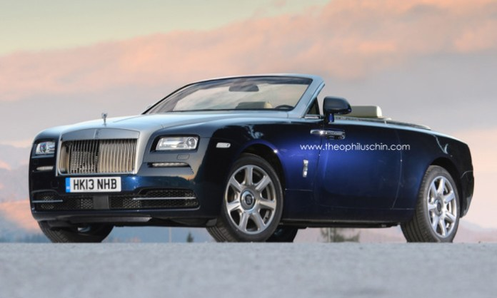 Rolls-Royce Wraith Drophead Coupe [Rendering]