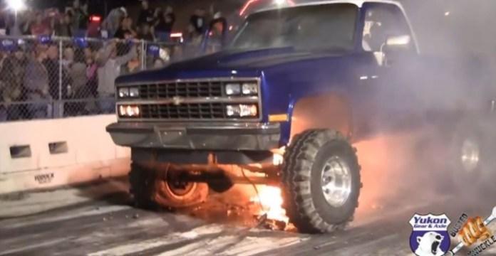 engine explode