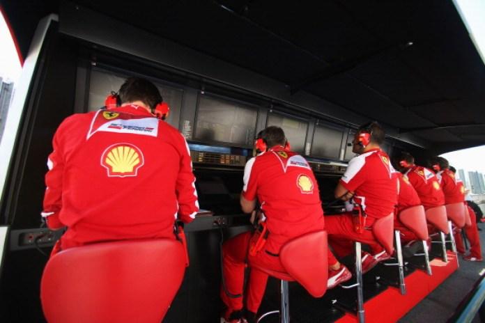 F1 Grand Prix of Hungary - Ferrari Pit Wall