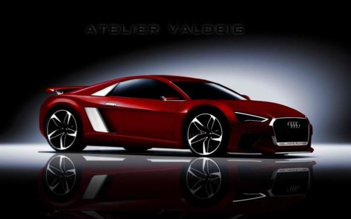 2015 Audi R8 rendering
