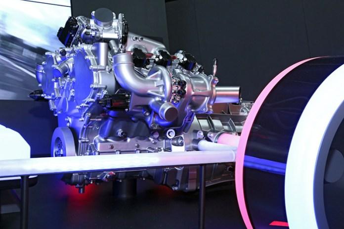 2015 Honda NSX powertrain