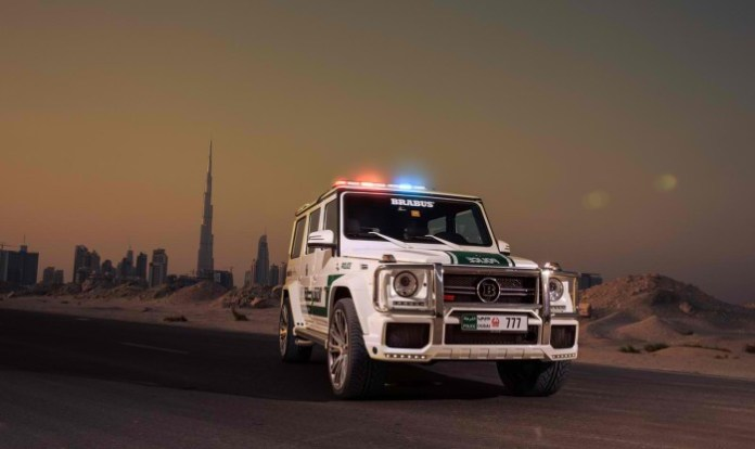 Brabus B63S - 700 Widestar for Dubai police (4)