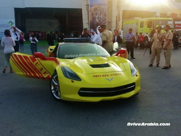 Corvette C7 Dubai Fire (2)