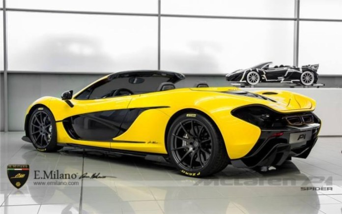 McLaren P1 RoadsterRenderings