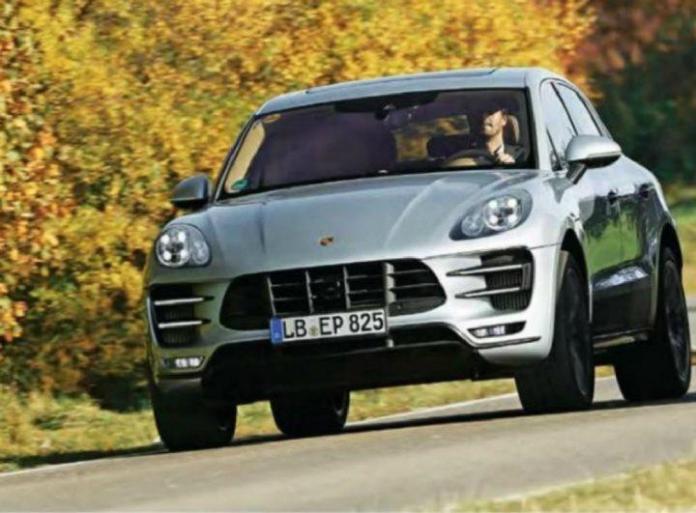 Porsche Macan leak 4