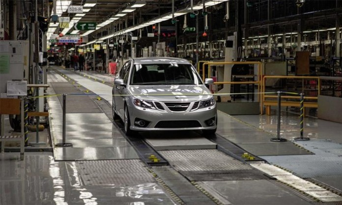 Saab-9-3-resumes-production-Trollhattan-NEVS-EV-China