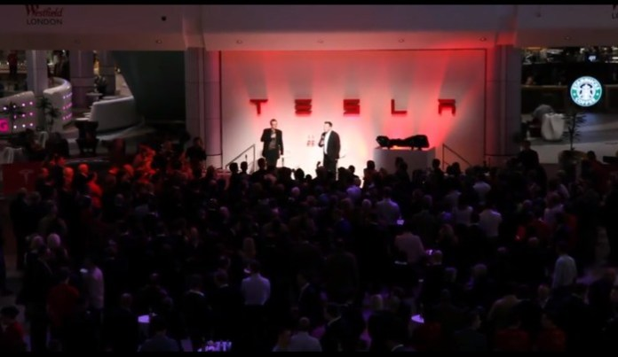 Tesla UK dealership