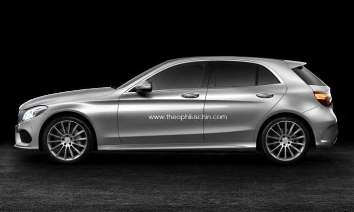 2014 Mercedes-Benz C-Class hatchback rendering