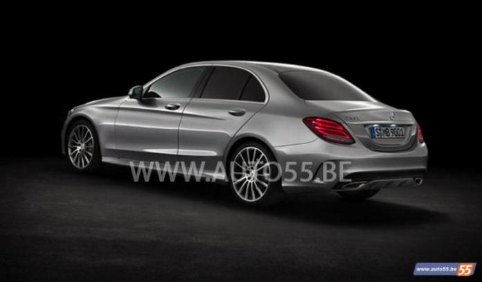 2014 Mercedes C-Class leaked picture (3)