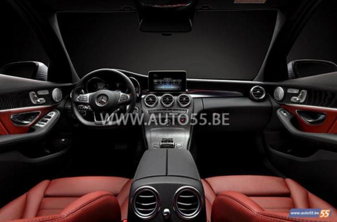 2014 Mercedes C-Class leaked picture (4)