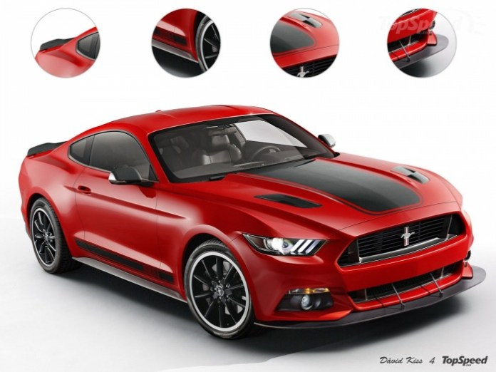 2015 Ford Mustang Mach 1 rendering (1)