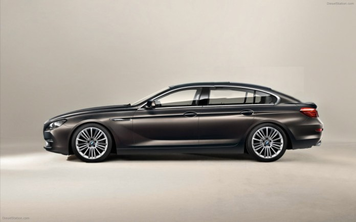 BMW 4-Series GranCoupe rendering