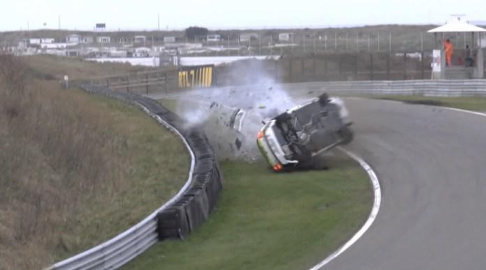 Big BMW 130i Crash