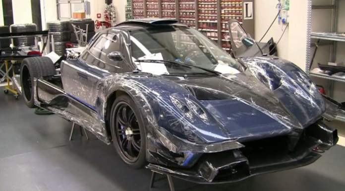 Carbon Blue Pagani Zonda Revolution