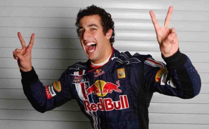 Daniel Ricciardo Happy