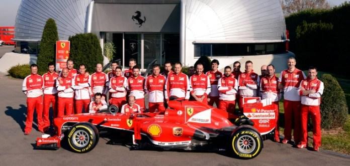 Ferrari fastest pit stop 2013