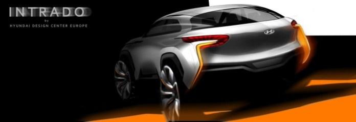 Hyundai Intrado concept teaser photo