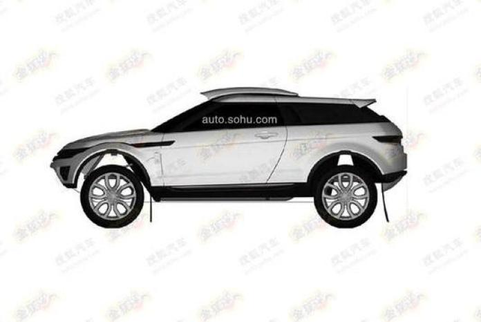 Rally-spec Range Rover Evoque patent photo (2)