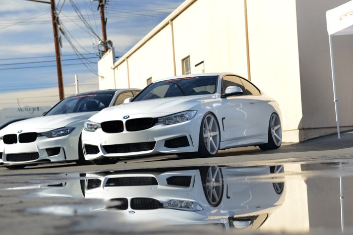 Tuned White BMW 4-Series