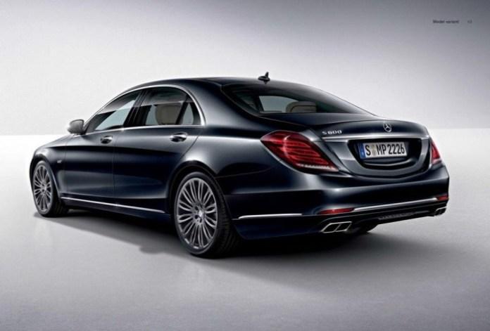 2015 Mercedes S600 leaked
