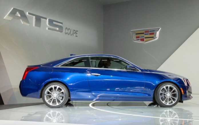 Cadillac ATS Coupe live in Detroit