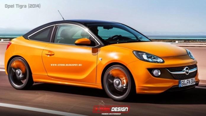 2014 Opel Tigra rendering