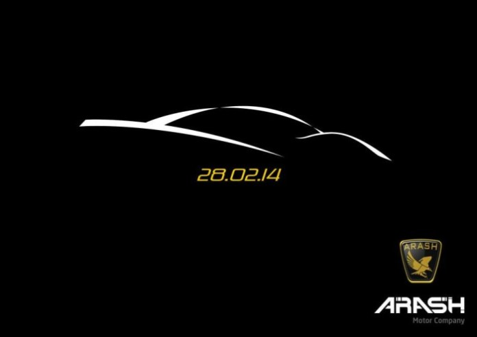 Arash new car teaser 2