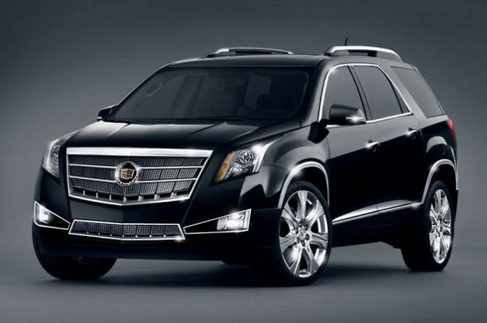 Cadillac-SRX-2015-Black-Widescreen-Wallpaper-HD
