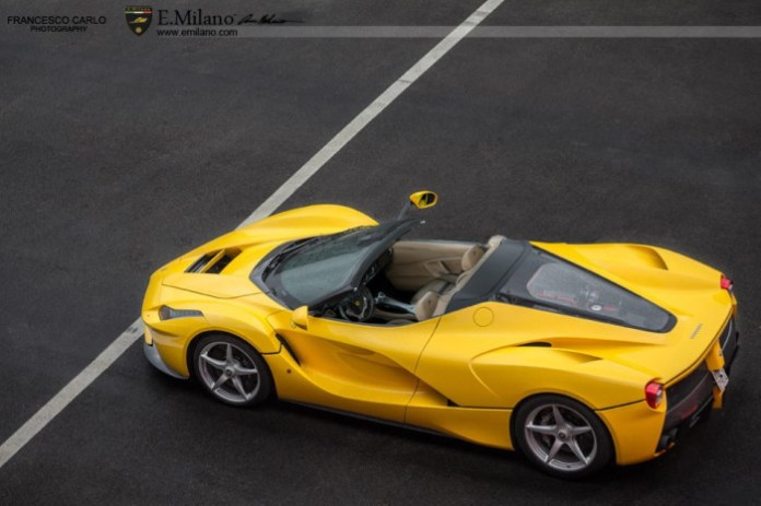 Ferrari LaFerrari Spider Renderings (1)