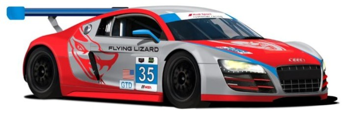 Flying Lizard Motorsports Audi R8 LMS 2