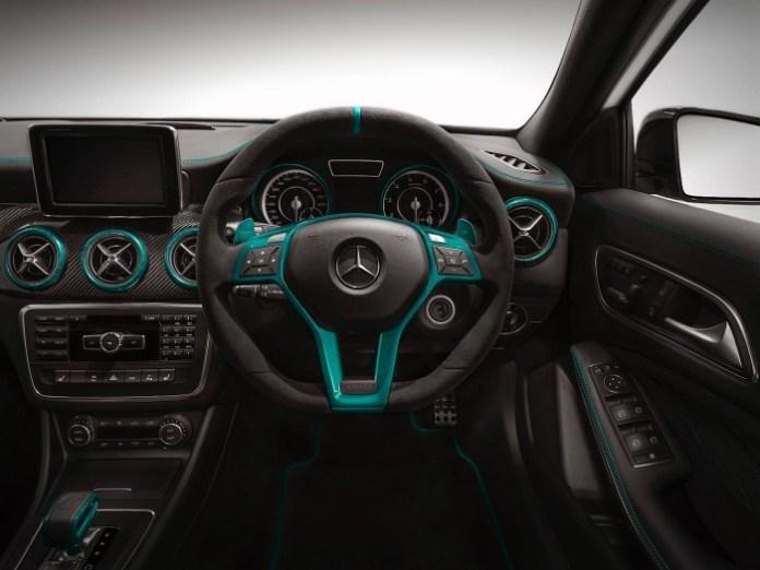 Mercedes-Benz A45 AMG Petronas Green Edition 2