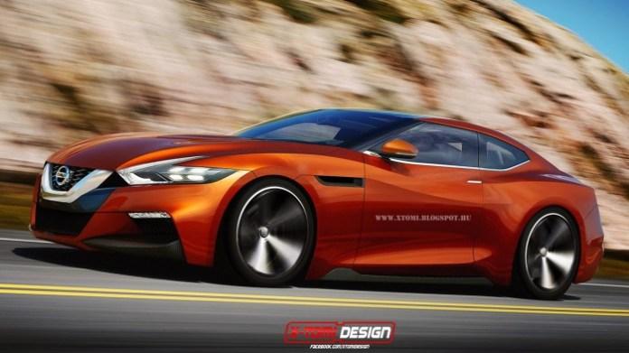 Next-gen Nissan GT-R rendering (1)
