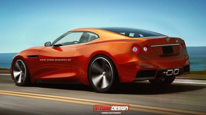 Next-gen Nissan GT-R rendering (2)