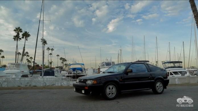 Petrolicious Honda CRX Si