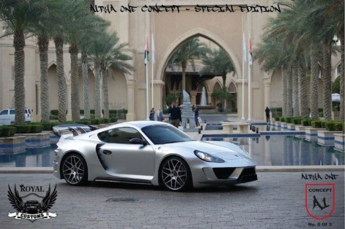 Porsche Cayman Alpha 1 Concept by Royal Customs 1
