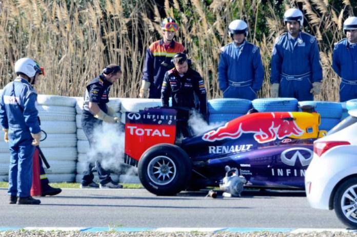 Red-Bull Jerez Test