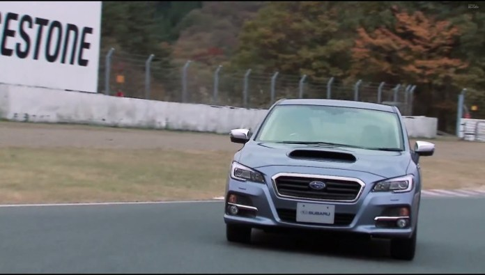 Subaru Levorg hits the track
