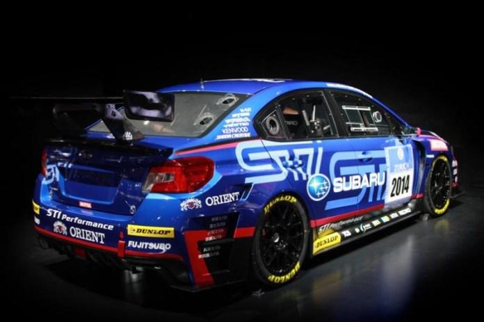 Subaru WRX STI NBR Challege 2