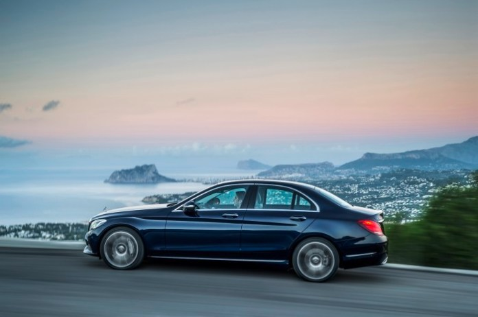 Mercedes-Benz C 300 BlueTEC HYBRID, Exclusive Line, Cavansitblau