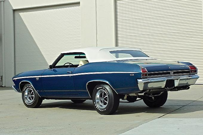 1969 Chevrolet Chevelle SS 396 L89 Convertible 2