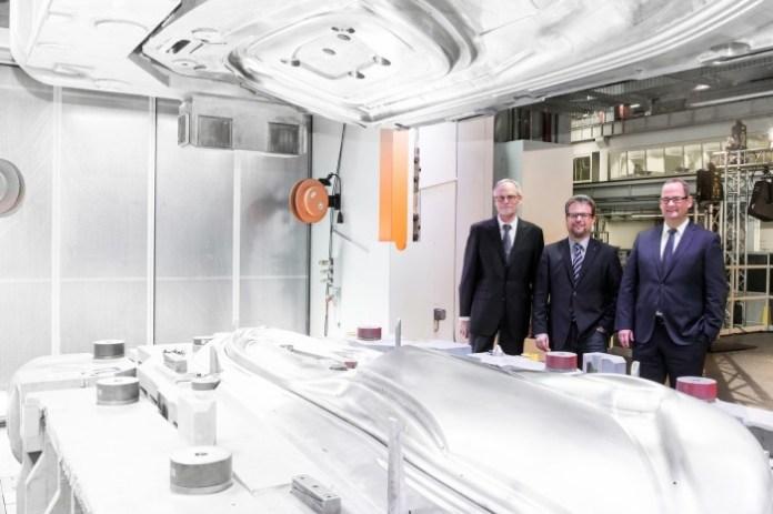 Neue Anlagen fuer den Audi-Werkzeugbau
