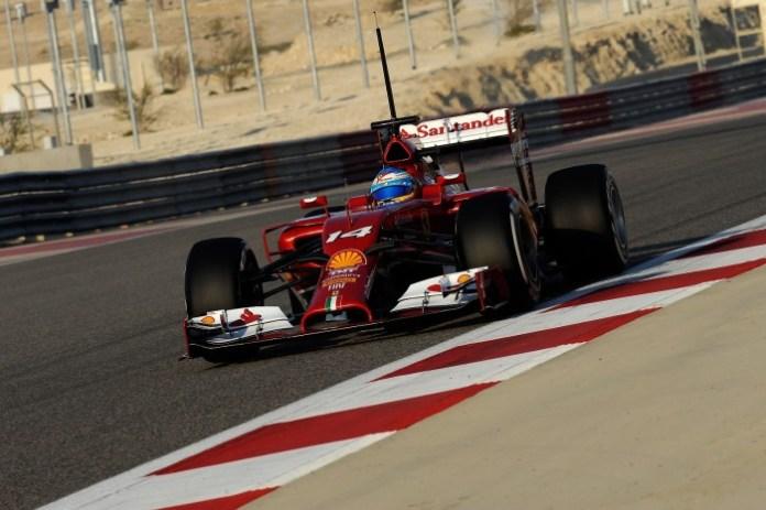 Alonso Bahrain