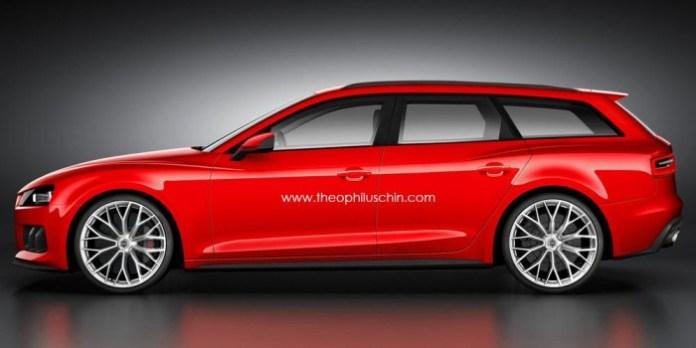 Audi A4 2014 renderings (1)