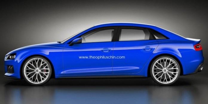Audi A4 2014 renderings (2)