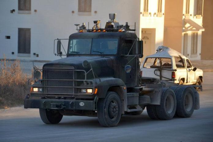 Autonomous military truck (3)