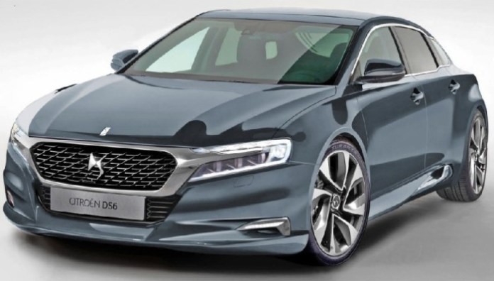 Citroen DS6 rendering