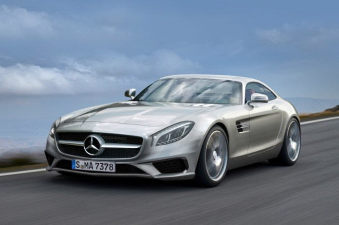 Mercedes AMG GT 2015 Rendering