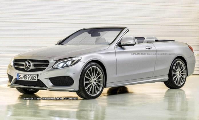 Mercedes-Benz C-Class Cabriolet rendering (1)