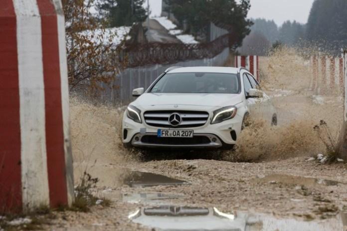 Mercedes-Benz GLA Erprobung (X156) 2013